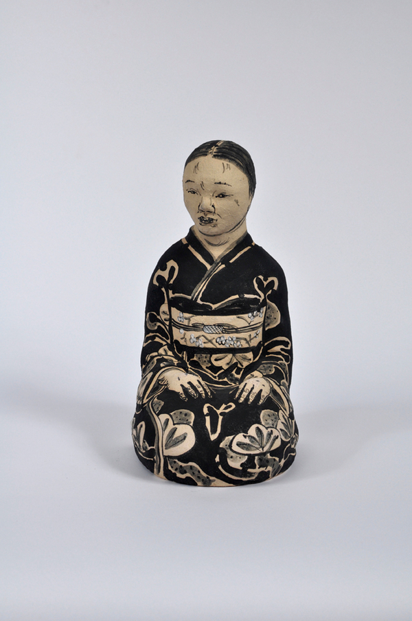 Akio Takamori Seated Old Woman undated 2