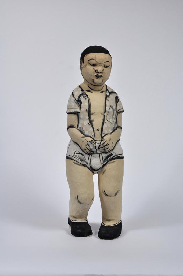 Akio Takamori Standing Figure undated 2